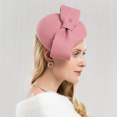 Ladies ' Specjalny/Uroczy/Prosty/Znakomity/Wysoka jakość/Romantyczny/Zabytkowe/Artystyczny Wełna Z Kokarda Beret Hat