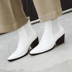 Жіночі ПУ Квадратні підбори Бокові черевики з Інші взуття