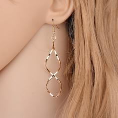 Simple Alloy Ladies' Fashion Earrings