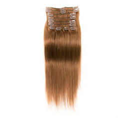 4A Non remy Straight Human Hair Clip in Hair Extensions 10PCS 150g