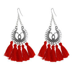 Exotic With Tassels Women's Earrings