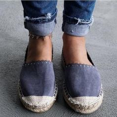Vrouwen PU Flat Heel Flats met Kralen schoenen