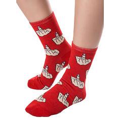Print Ademend/Crew sokken Sokken