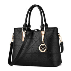 Elegant/Charmen/Splice Color Tygväskor/Crossbody Väskor