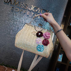 Elegant Straw Fashion Handbags