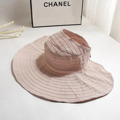 Ladies ' Hotteste Bomuld/Stof Strand / Sun Hatte/Bucket Hat