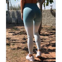 Color Block Long Skinny Sporty Leggings