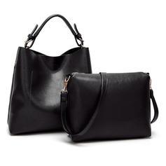 Charmen/Modern/Enfärgad Tygväskor/Crossbody Väskor/Axelrems väskor/Bag Súpravy