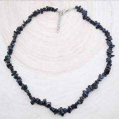 Beau À la mode Simple Natural Stone Femmes Colliers