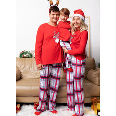 Tartan Famiglia Partita Di Natale Pajamas