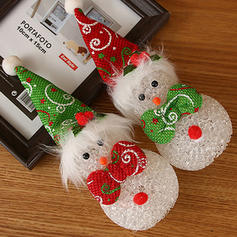 Boże Narodzenie Snowman Lalka Jasny PVC Dekoracje świąteczne