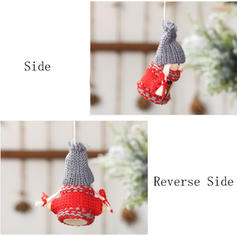 Gnome Christmas Angel Hanging Cloth Tree Hanging Ornaments Doll (Set of 2)
