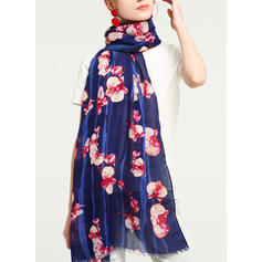 Floral/Tassel Neck/Light Weight/Oversized/Shawls/attractive Scarf