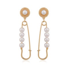 Colourful Pearl Women's Earrings