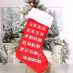 Неткане полотно Різдвяний декор Різдвяні панчохи Різдвяний Календар Пригод