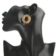 Enkle Legering Kvinder øreringe