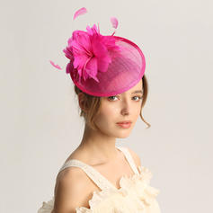 Ladies' Special/Glamourous/Elegant/Unique/Fancy/Romantic/Vintage/Artistic Cambric/Feather Fascinators