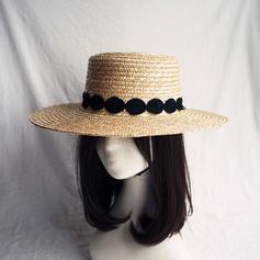 Señoras' Caliente Paja salada Sombrero de paja/Sombreros Playa / Sol