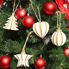 god jul hengende Tre Julevedheng Trehengende ornamenter