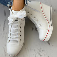 Women's Canvas Casual Outdoor With Lace-up shoes