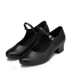 Vrouwen Character Shoes Hakken Sandalen Pumps Echt leer Oefening