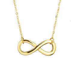 Einzigartig Titan Stahl Frauen Halsketten