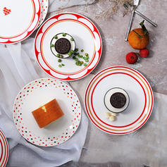 Charmant Porcelaine Assiettes