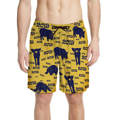 Men's Hawaiian Quick Dry Board Shorts