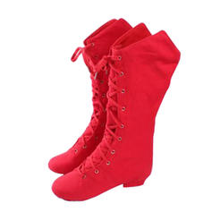 Women's Dance Boots Boots Canvas Practice