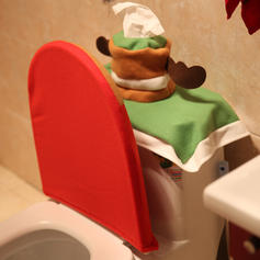 Merry Christmas Cloth Toilet Seat Cover