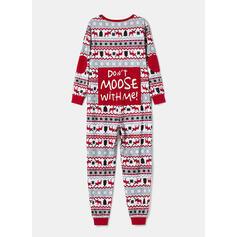 Північний олень Лист Друк Для сім'ї Різдвяні піжами