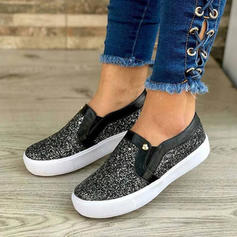 Women's PU Casual Outdoor With Sequin shoes