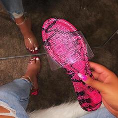 Mulheres PVC Sem salto Chinelos com Outros sapatos