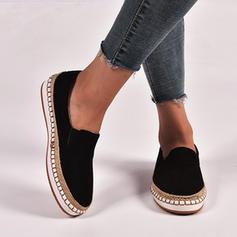 Kvinder Ruskind Flad Hæl Fladsko sko