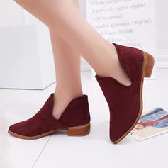 Women's PU Chunky Heel Pumps With Others shoes