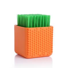 Estilo Moderno PP Silicona Cepillo de limpieza (Juego de 2)