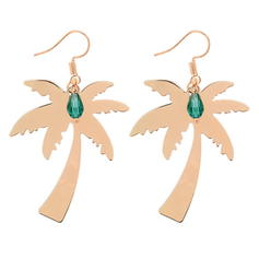 Unique Alloy Glass Women's Fashion Earrings