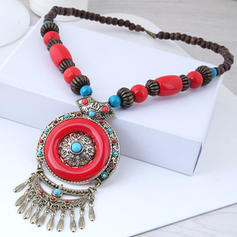 Beautiful Alloy Resin Women's Necklaces