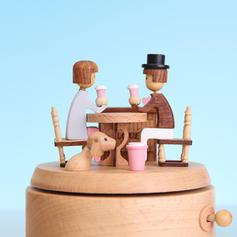 Romantic Wood Music Box