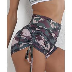 Print Casual Sexy Sporty Print Shorts