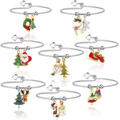 Lovely Alloy Bracelets Christmas Jewelry