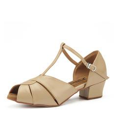 Women's Leatherette Heels Latin Dance Shoes