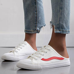 Women's Canvas Casual With Lace-up shoes