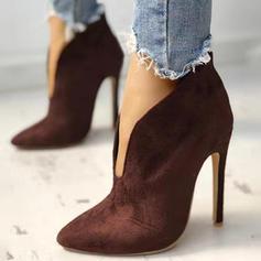 Vrouwen Suede Stiletto Heel Laarzen schoenen