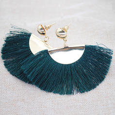 Stylish Iron With Tassels Women's Fashion Earrings (Sold in a single piece)
