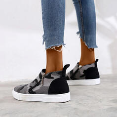 Vrouwen Zeildoek Casual Outdoor met Rits schoenen