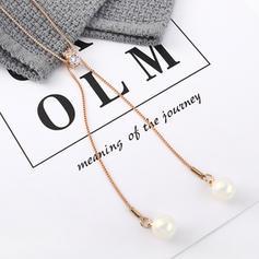 Shining Imitation Pearls Zircon Iron With Imitation Pearl