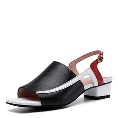 Women's PU Low Heel Pumps With Buckle shoes