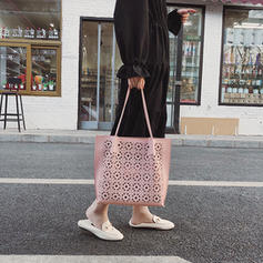 Hollow PU Tote Bags