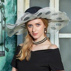 Dames Romantique/Style Vintage Batiste Disquettes Chapeau/Kentucky Derby Des Chapeaux